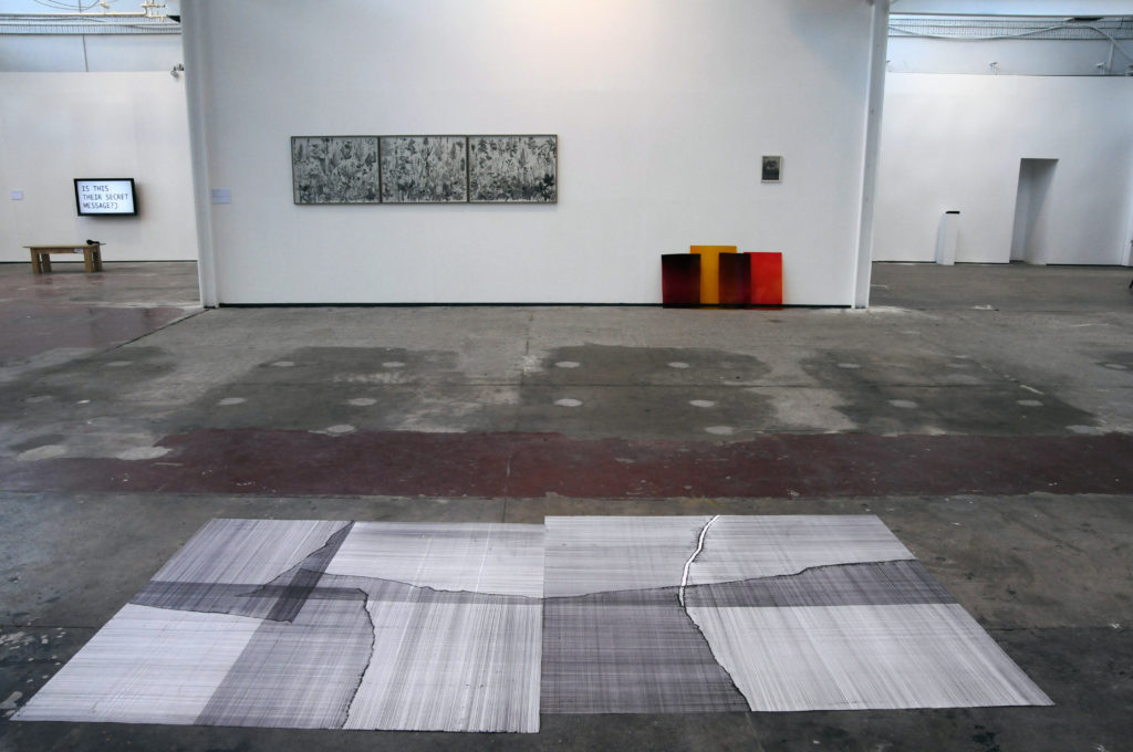 Untitled drawing, 2014, Tulca Festival, Galway