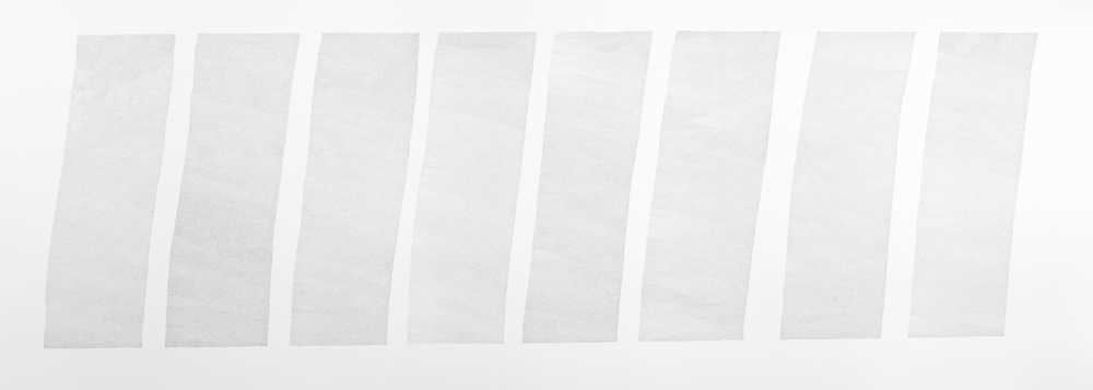 Binding, 2003, ink on paper, 76 x 191 cm