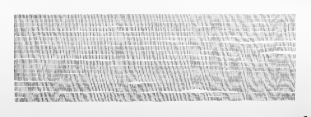 Continuing an Old Pattern, 2007, graphite on paper