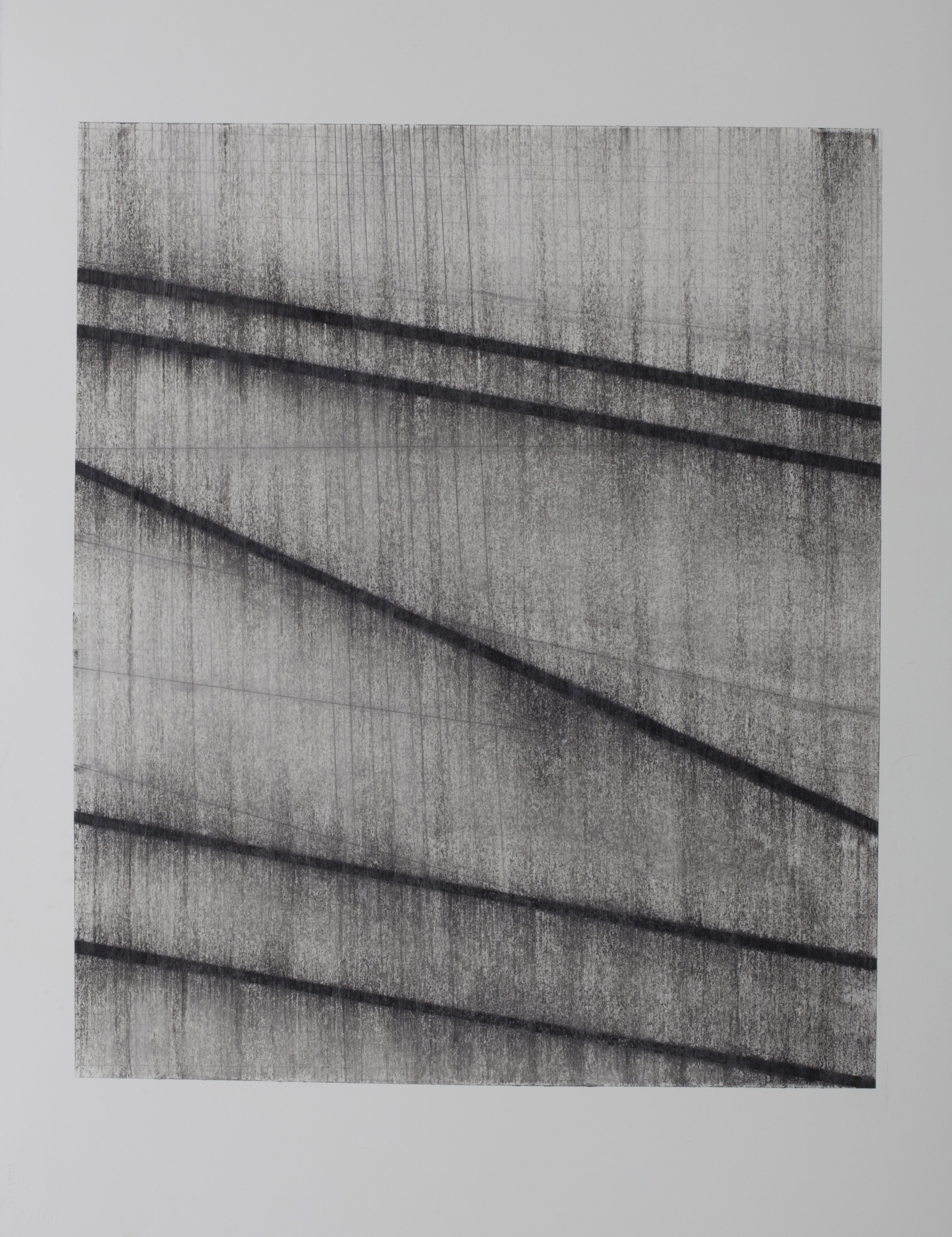 Partita 5, 2013, charcoal, graphite and mixed media on Arches HP 300g, 76 x 56 cm