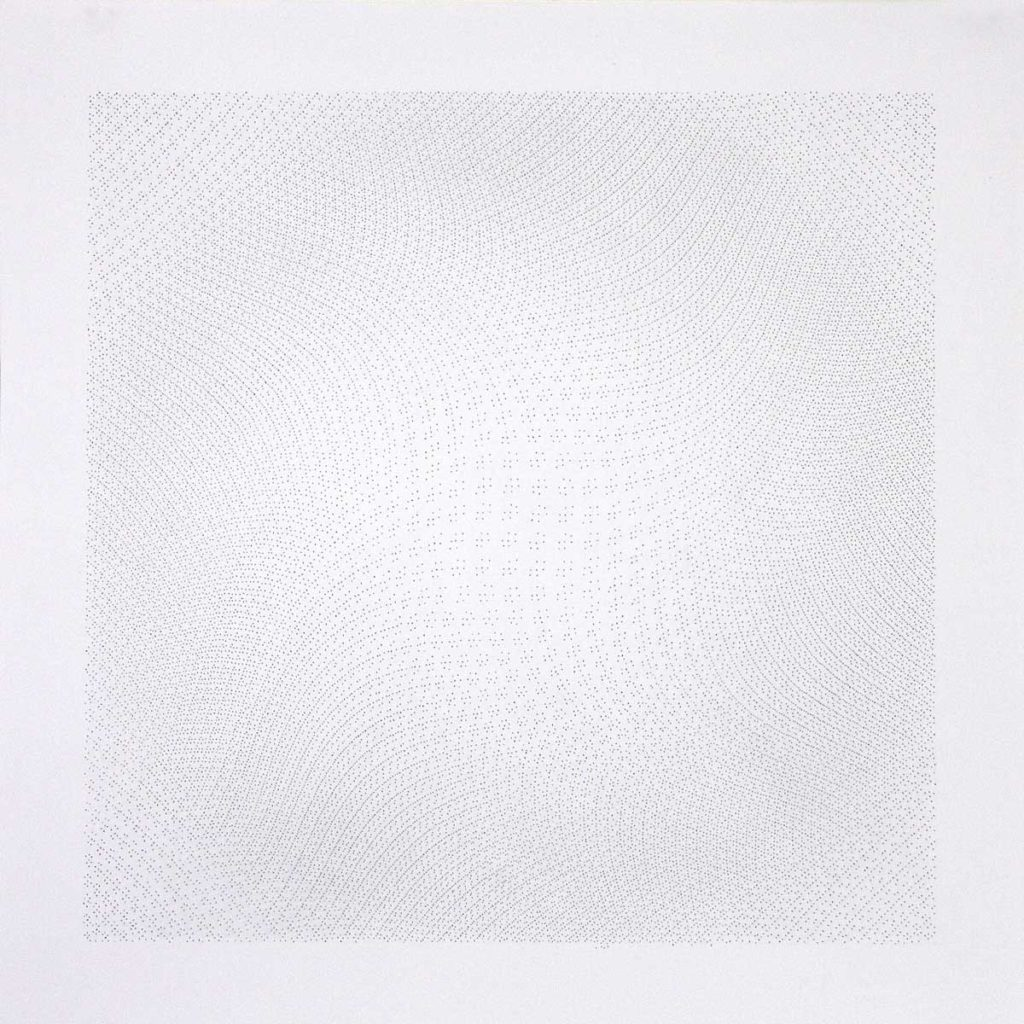 Drawing, #25.11, 2011, pencil on paper, 70 x 70 cm