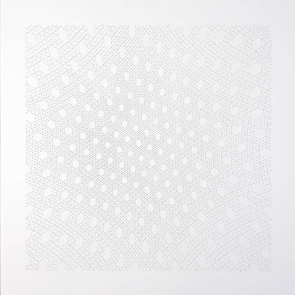 Drawing #26.11, 2011, pencil on paper, 70 x 70 cm