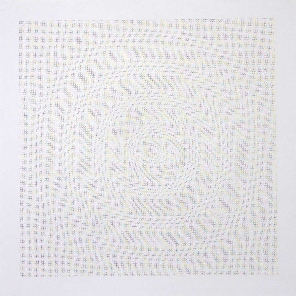 Drawing #4.11, 2011, pencil on paper, 70 x 70 cm