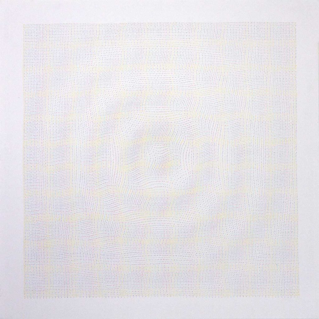 Drawing #5.11, 2011, pencil on paper, 70 x 70 cm
