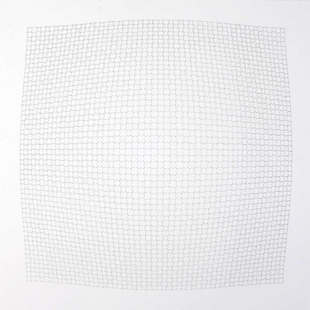 Drawing 12, 2011, pencil on paper, 70 x 70 cm