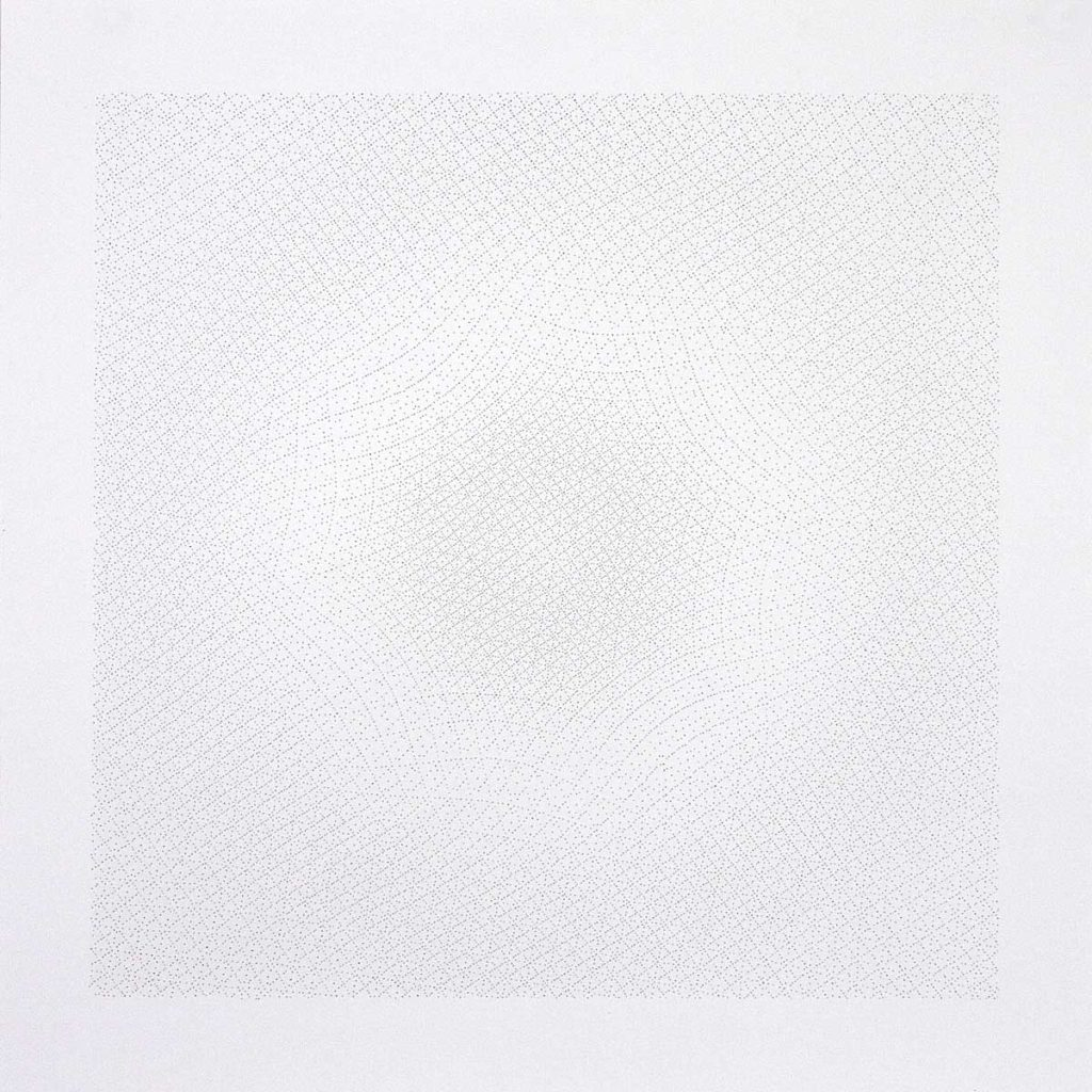 Drawing #23.11, 2011, pencil on paper, 70 x 70 cm