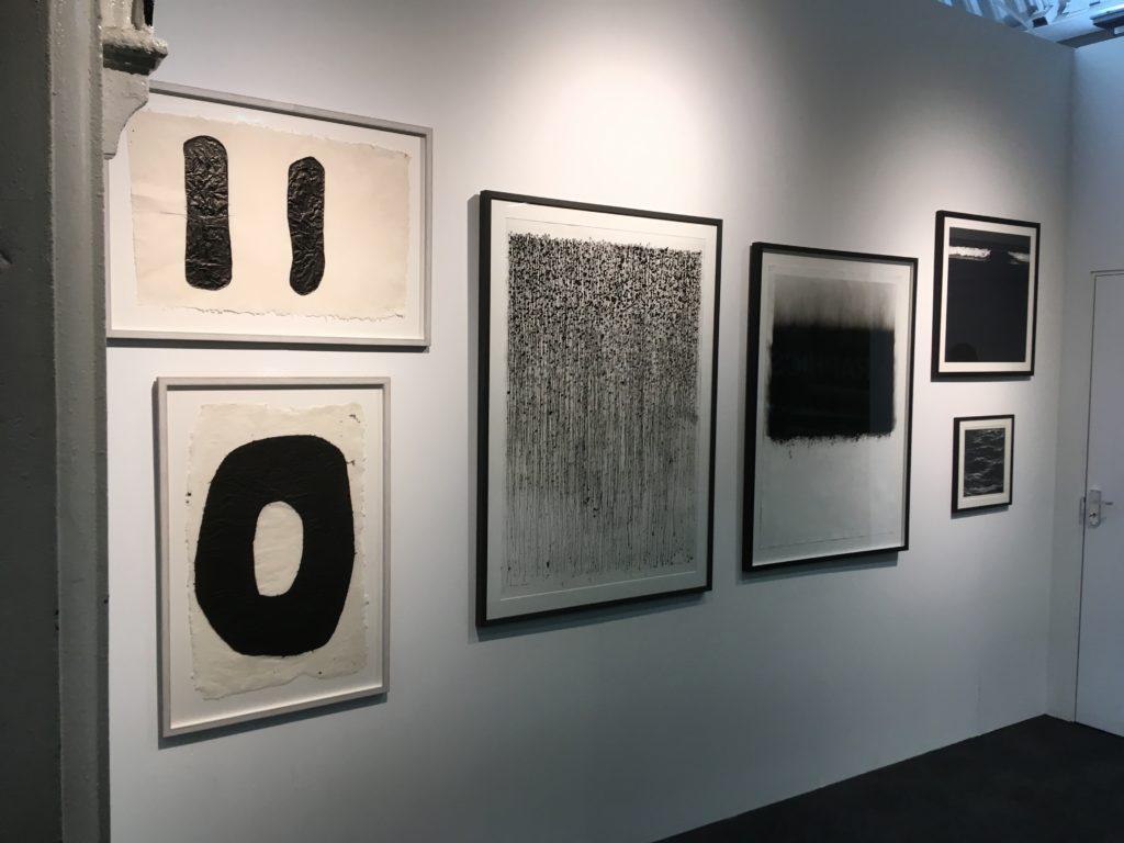 Works by (left to right ) Judith Trepp, Nigel Bird and Jon Bird