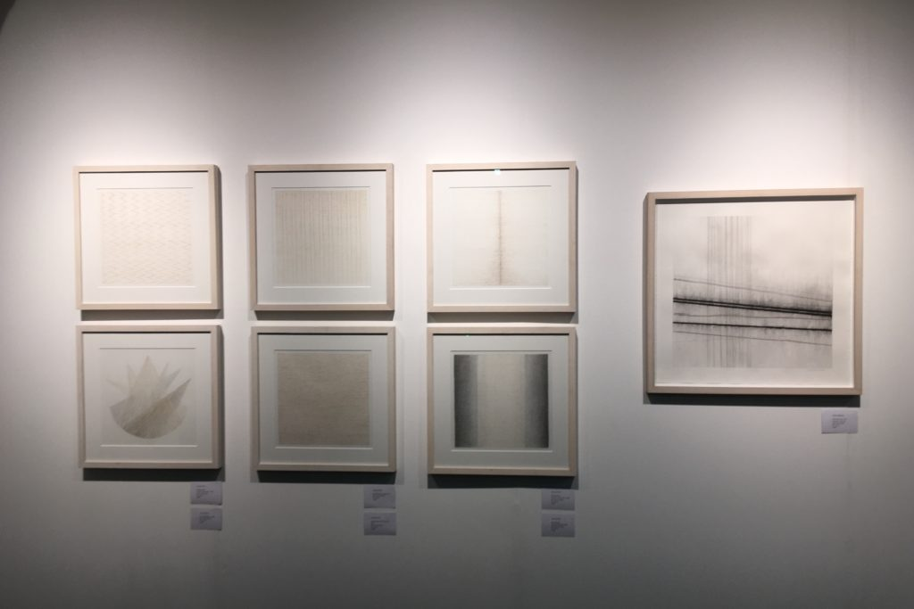 Works by Julia Hutton and Frances Richardson